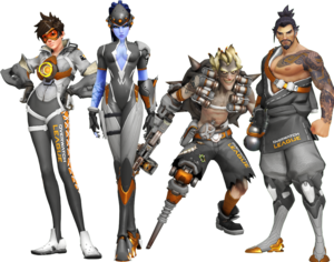 Overwatchleague twitch tracer junkrat widowmaker and hanzo skins gumiabroncs Image collections